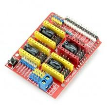 Шилд для arduino UNO и Stepstick