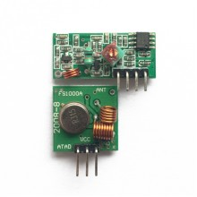 315 мГц (передатчик, приемник)