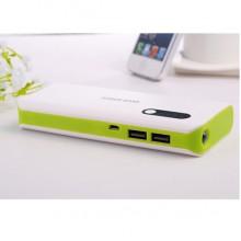 Портативный аккумулятор 10400mAh (зеленый)