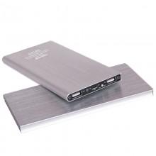 Ультратонкий портативный аккумулятор 6000mAh (серебристый)
