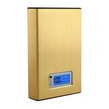 Портативный аккумулятор 12000mAh (золотистый)