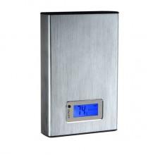 Портативный аккумулятор 12000mAh (серебристый)