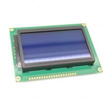 ST7920 жк дисплей 128х64 синий