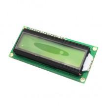 1602 жк дисплей зеленый