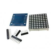 max7219 светодиодный модуль 8х8 DIY