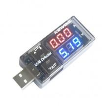 Keweisi kws-10va USB измеритель тока и напряжения
